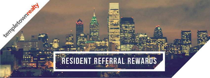 resident referral rewards