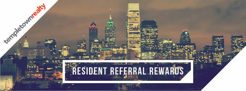 resident referral rewards
